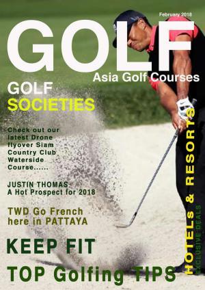 Asia Golf Courses February 2018 Asia Golf Courses February 2018