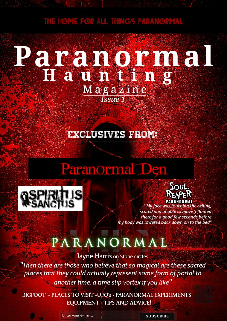 Paranormal Hauntings Magazine # 1