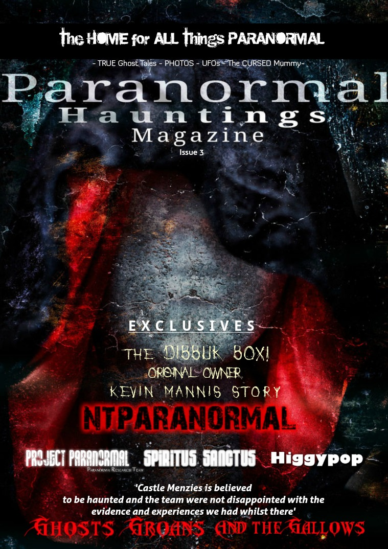Paranormal Hauntings Magazine 3