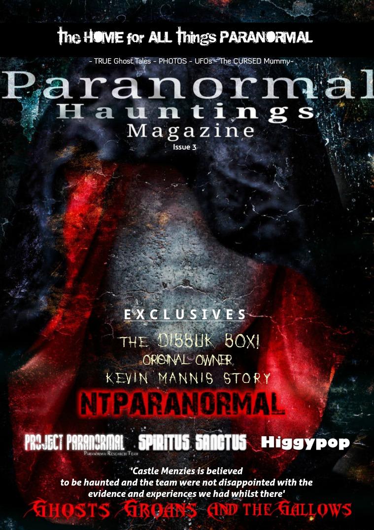 Paranormal Hauntings Magazine 3