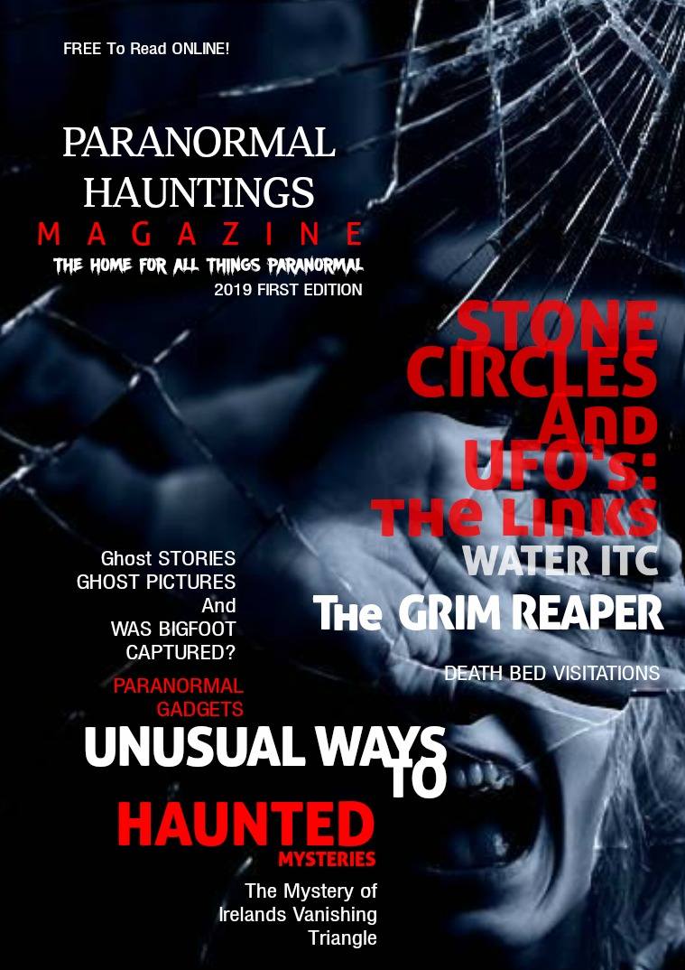 Paranormal Hauntings Magazine 6