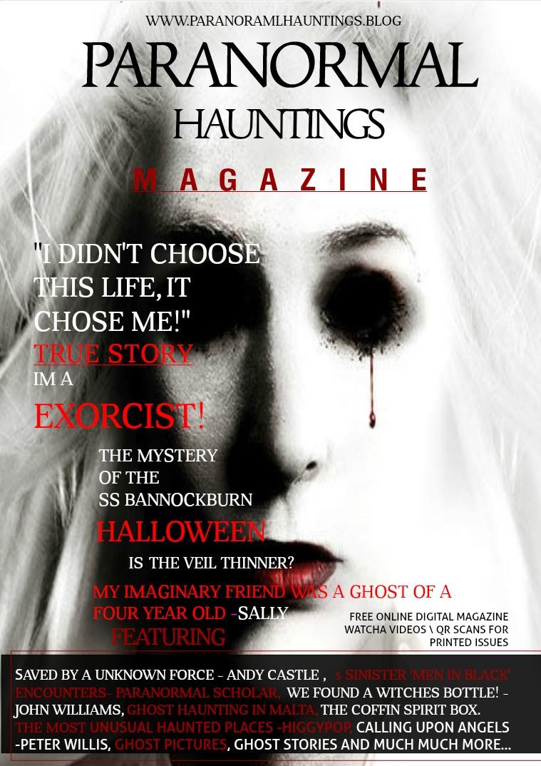 Paranormal Hauntings Magazine #8