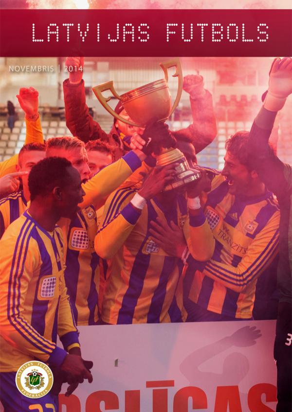 Latvijas Futbols Novembris 2014