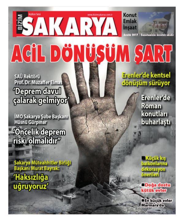 EMLAK-KONUT-İNŞAAT Bizim Sakarya Sektörel Ek online dergi