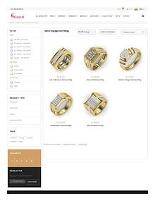 Mens Engagement Rings - Buy Online Mens Engagement Rings