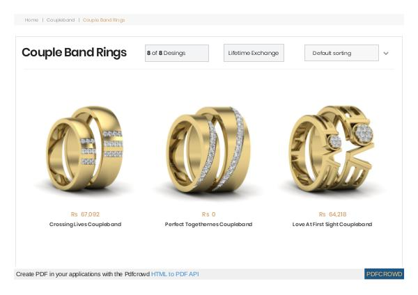 Best Couple Rings - 50+ Couple Band Rings in Pune Best Couple Rings - 50+ Couple Band Rings in Pune