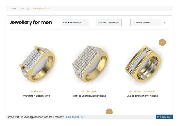 Men's Jewellery Online Shopping in India Men's Jewellery Online Shopping in India