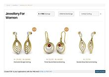 Women's designer jewellery