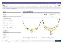 Buy ladies jewellery mangalsutra - mangalsutra