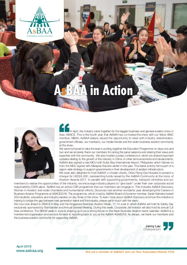 AsBAA in action-April newsletter_April