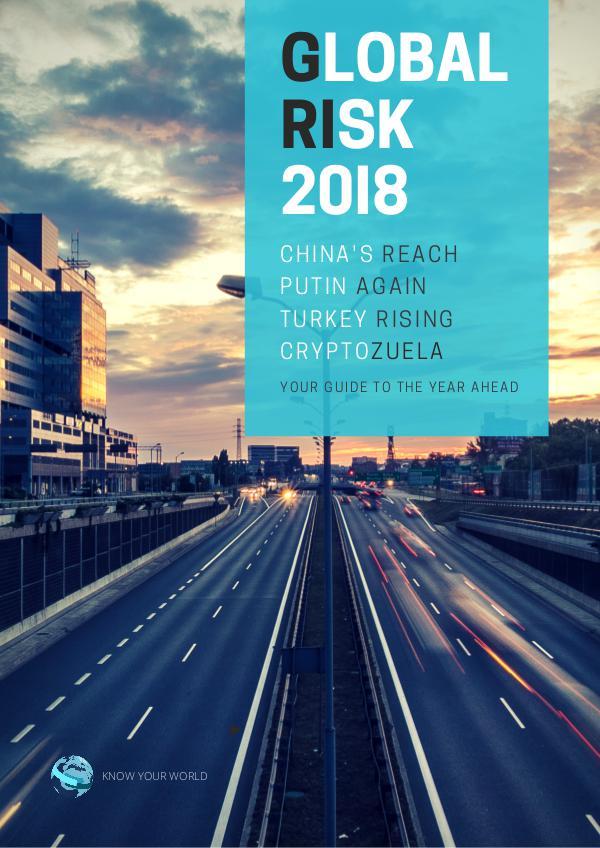 Global Risk Outlook 2018 Volume 1