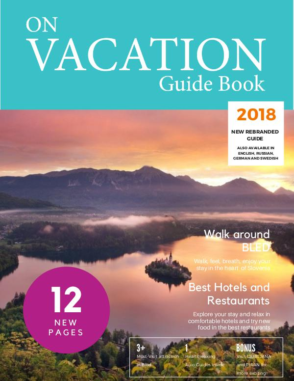 On Vacation Guide Book Bled