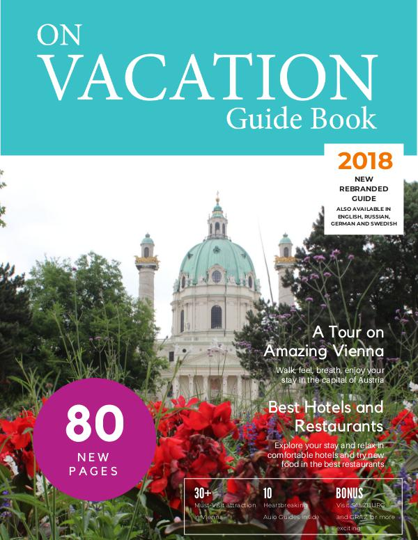 On Vacation Guide Book Vienna