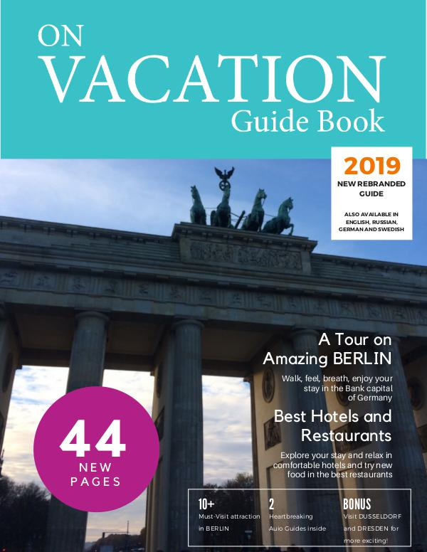 On Vacation Guide Book Berlin