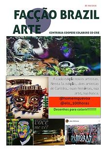 Revista Facção Brazil Arte