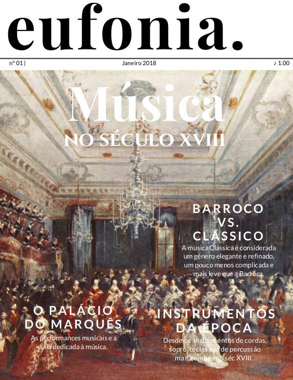 EUFONIA Música no século XVIII