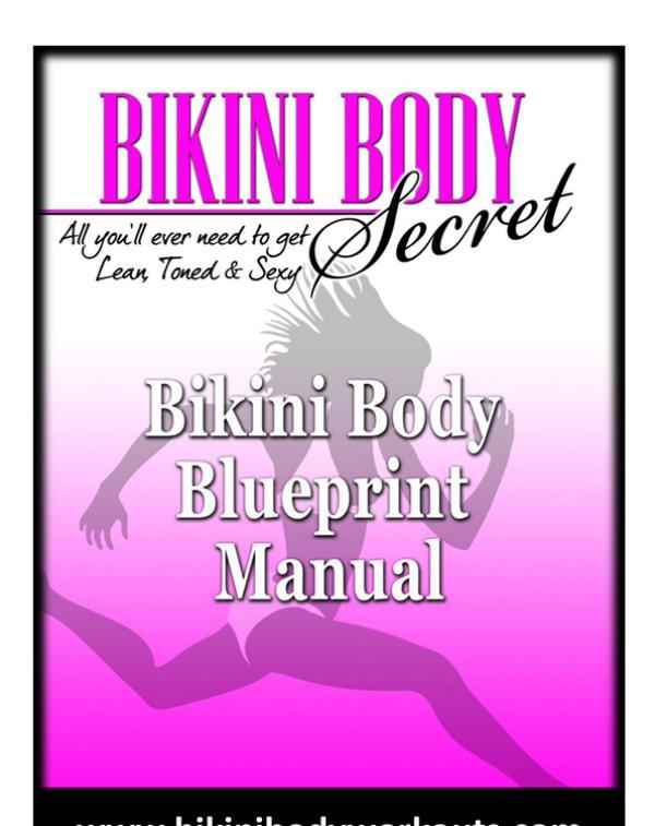 Bikini Body Workouts PDF / Guide Jen Ferruggia Free Download Bikini Body Workouts Program