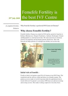 Which Is The Best IVF Centre In Chennai