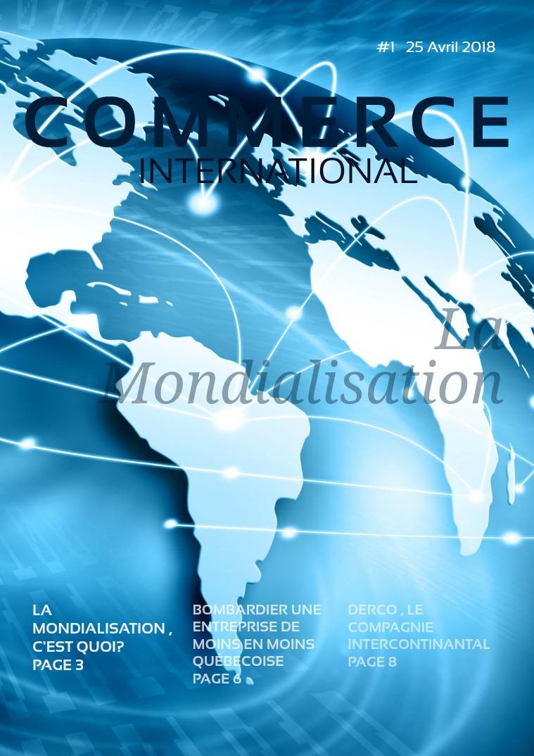 Le commerce internationnal Le commerce internationnal