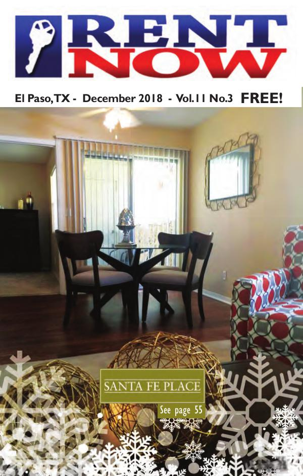 El Paso Rent Now December 2018