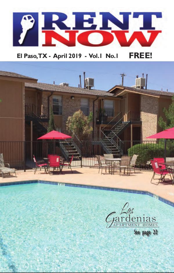 El Paso Rent Now Rent Now - April 2019