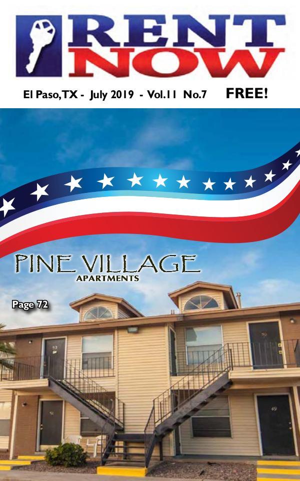 El Paso Rent Now Rent Now - July 2019