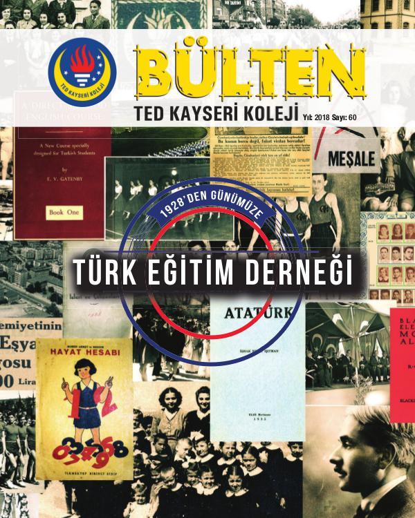 TED Kayseri Bulten TED Kayseri Koleji Bülten Dergisi Ocak 2018