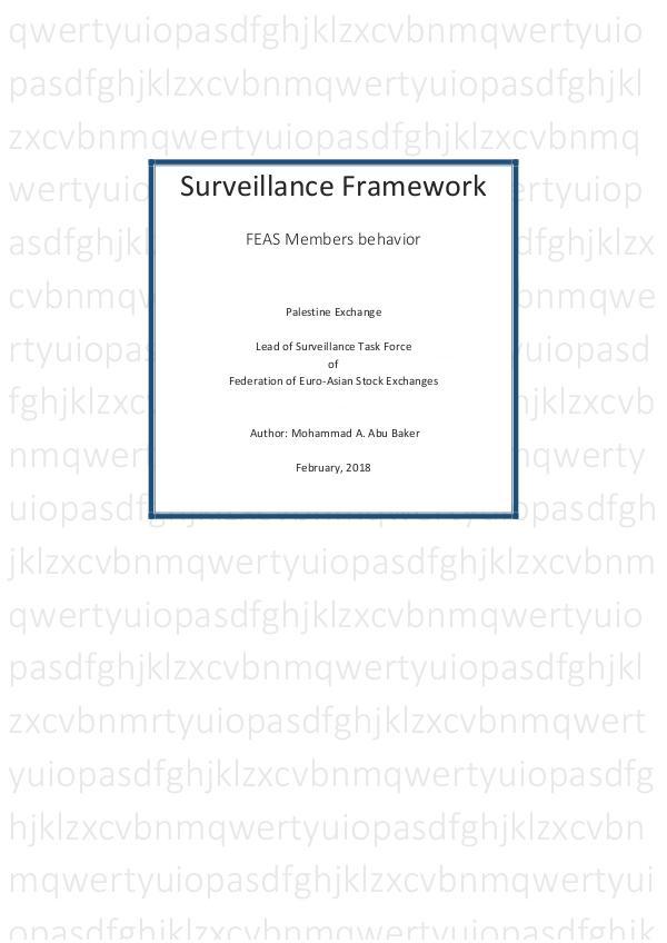 Surveillance Surveillance Framework