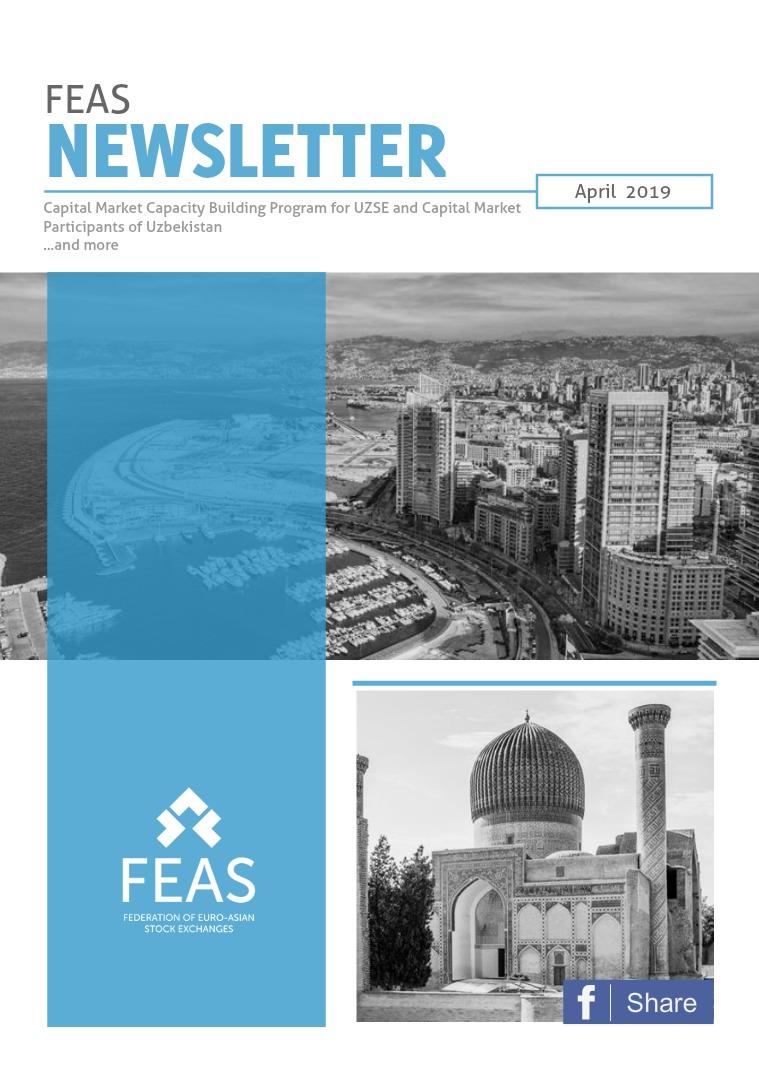 Newsletter April 2019, Issue 1