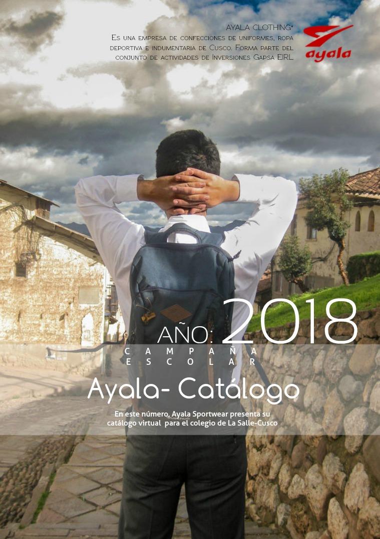 Catálogo Escolar 2018 N°1