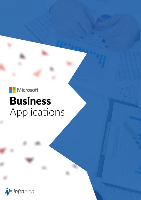 Infratech - Microsoft Business Applications Services Brochure Jan. 2018