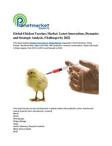 Global Chicken Vaccines Market: Latest Innovations, Dynamics