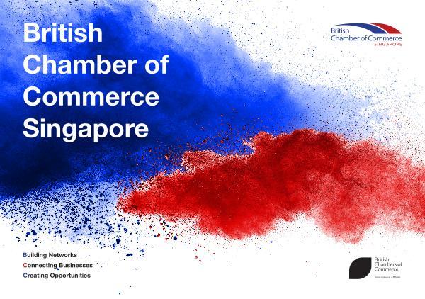 BritCham Singapore Brochure 2019