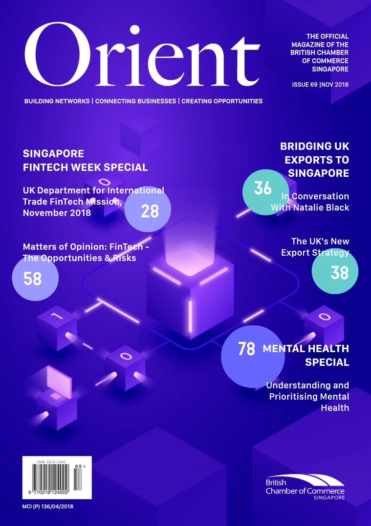 Orient Magazine Issue 69 - November 2018