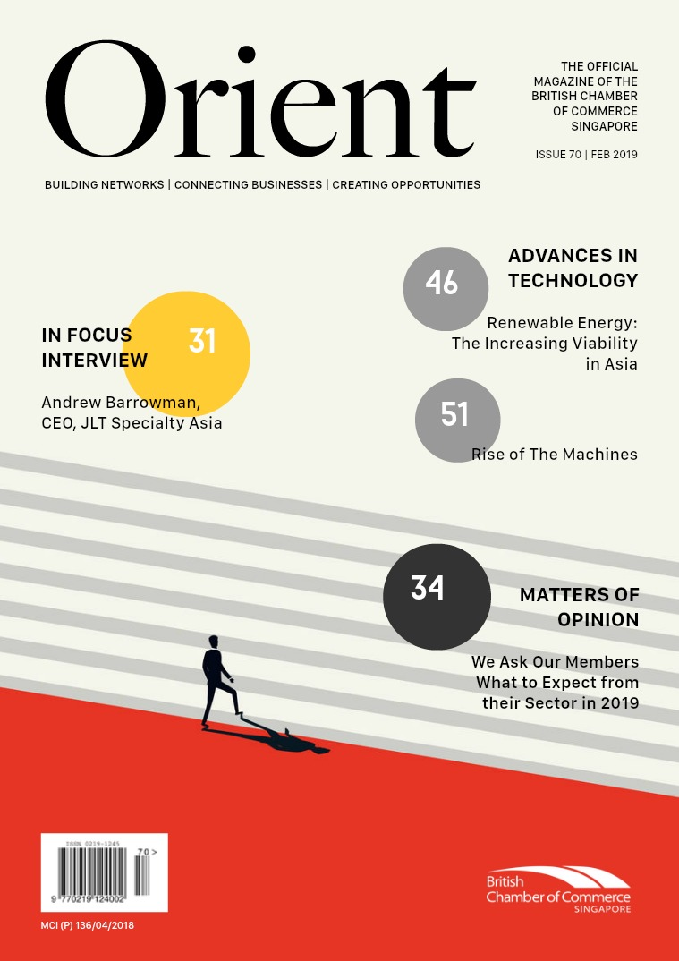 Orient Magazine Issue 70 - February 2019