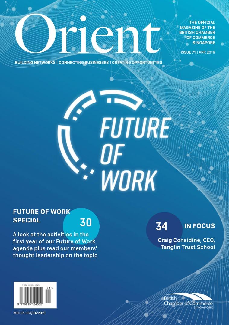 Orient Magazine Issue 71 - April 2019