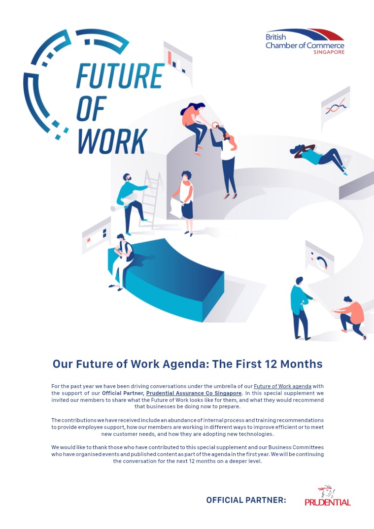 Special Orient Supplement: Future of Work