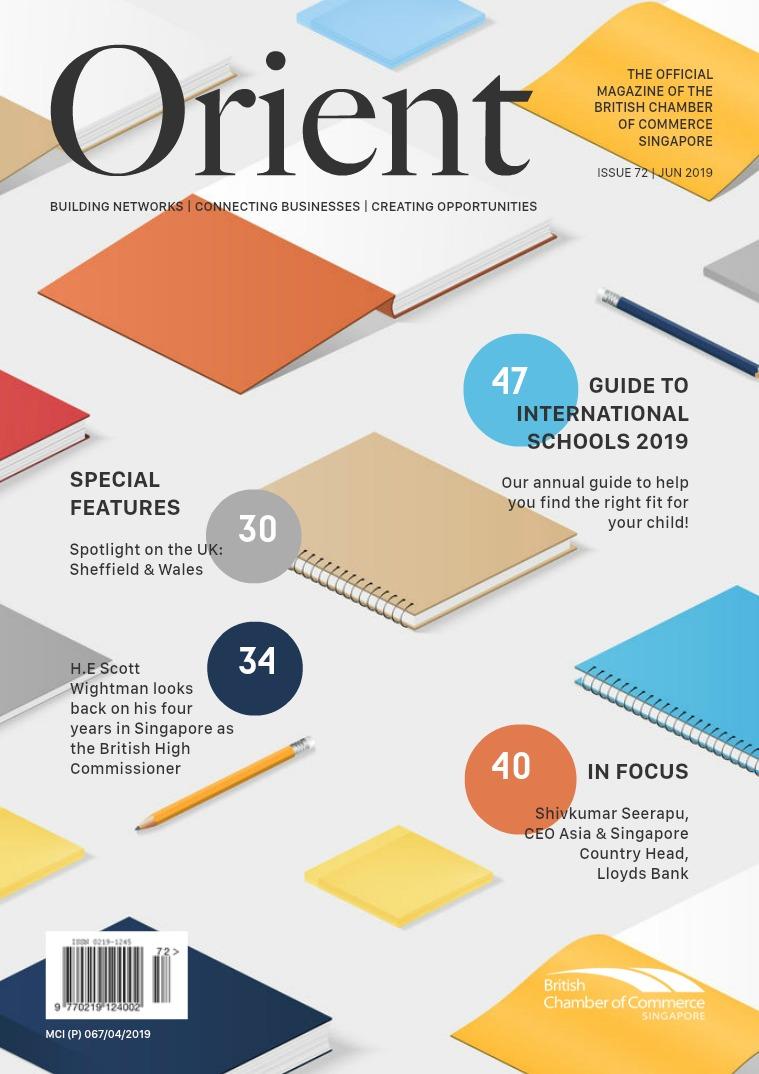 Orient Magazine Issue 72 - June 2019