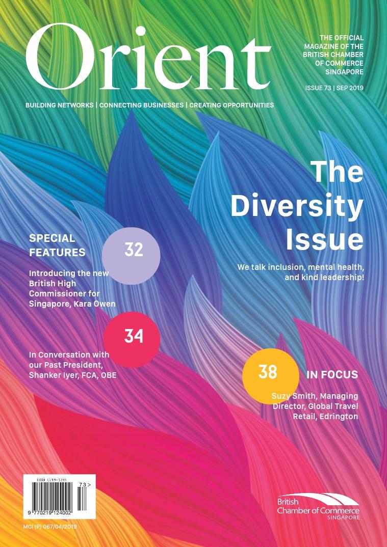 Orient Magazine Issue 73 - September 2019