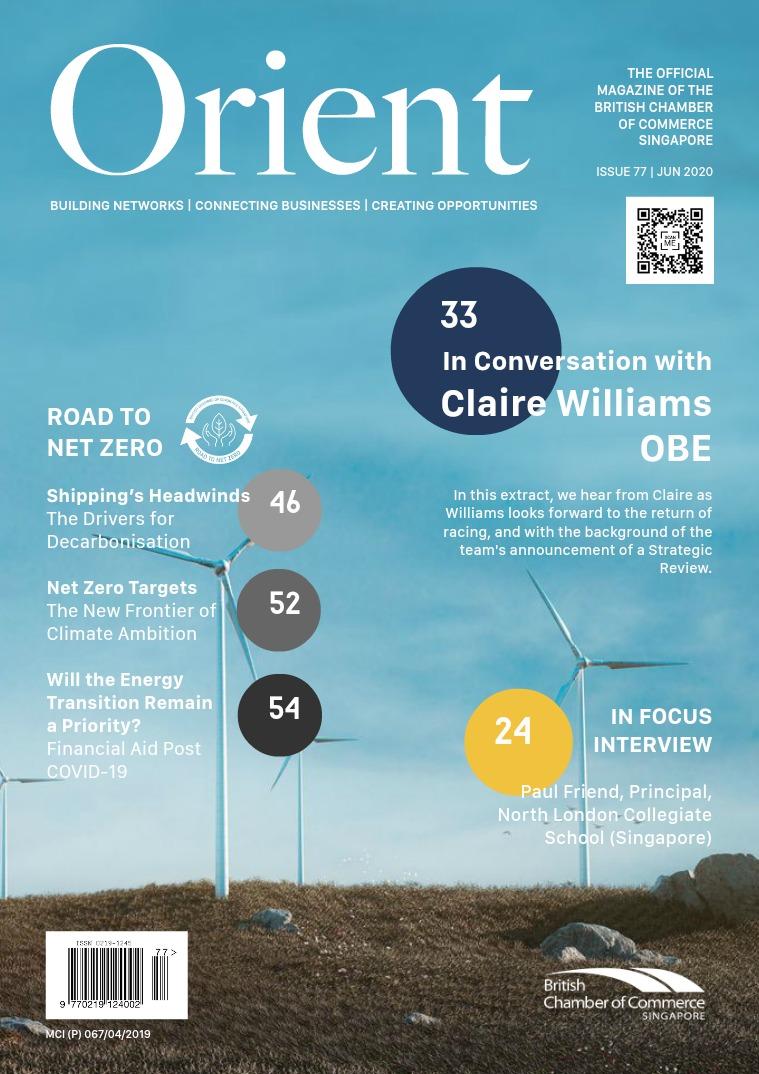 Orient Magazine Issue 77 - June 2020