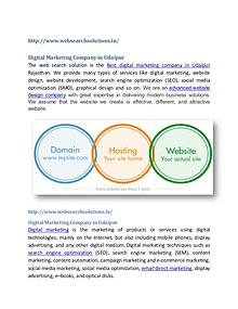 Web Search Solutions