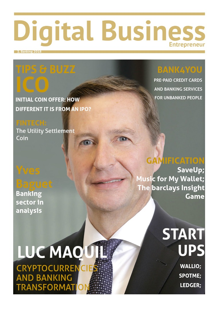 Digital Business Entrepreneur Magazine Banking