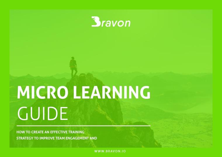 Bravon - Micro Learning Bravon  - Micro Learning