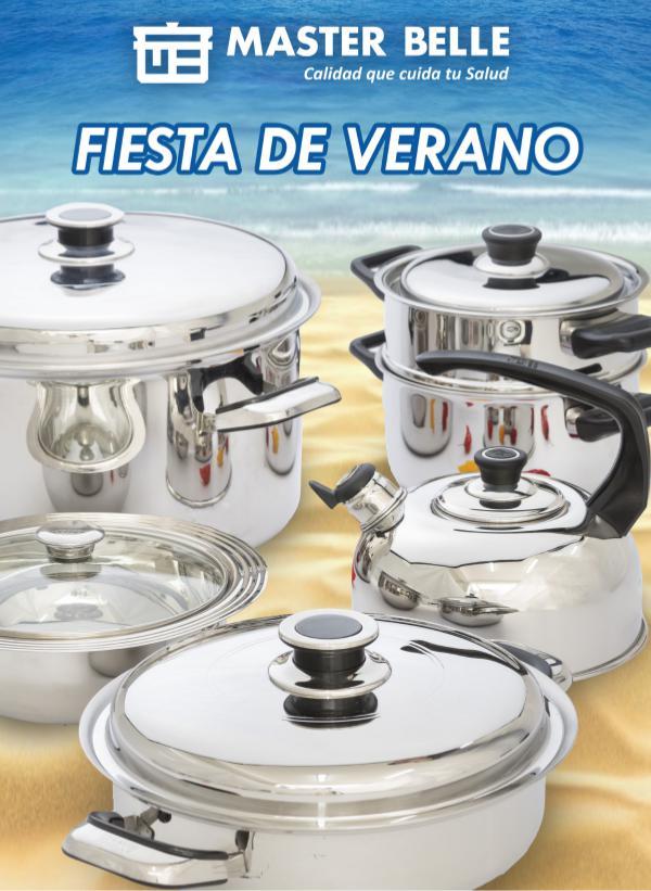 Catálogo Masterbelle Catálogo Fiesta de Verano 2018