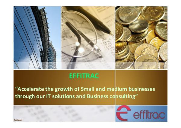 Effitrac Consultancy Effitrac