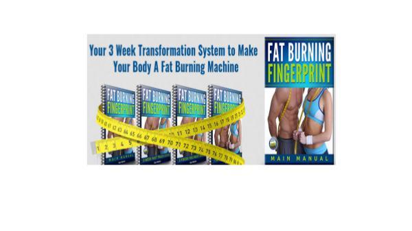 Fat Burning Fingerprint Book PDF Free Download Fat Burning