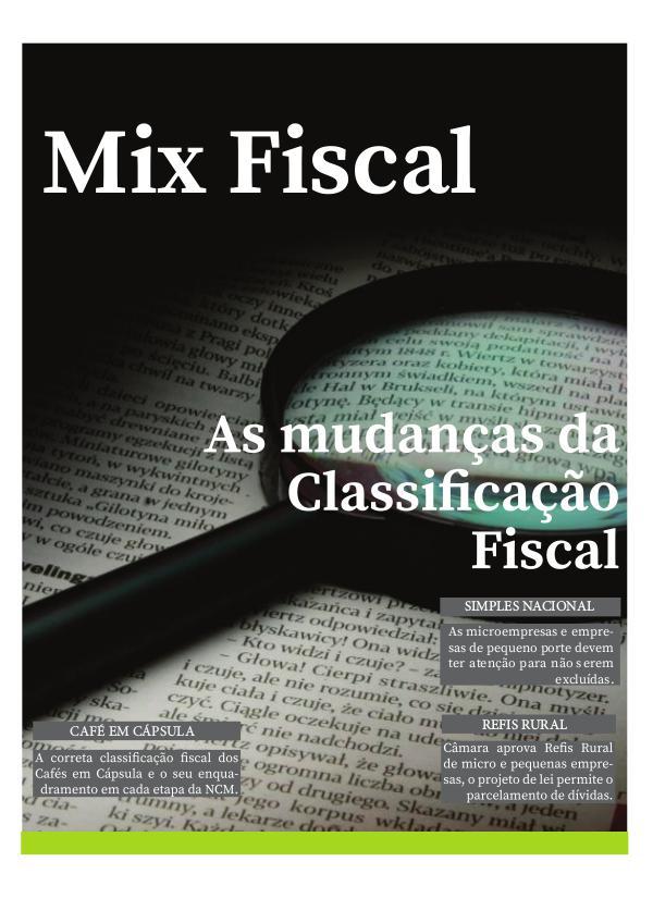 As mudanças da Classificação fiscal Ebook_2017
