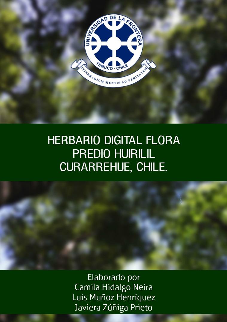 Herbario digital Predio Huirilil 1