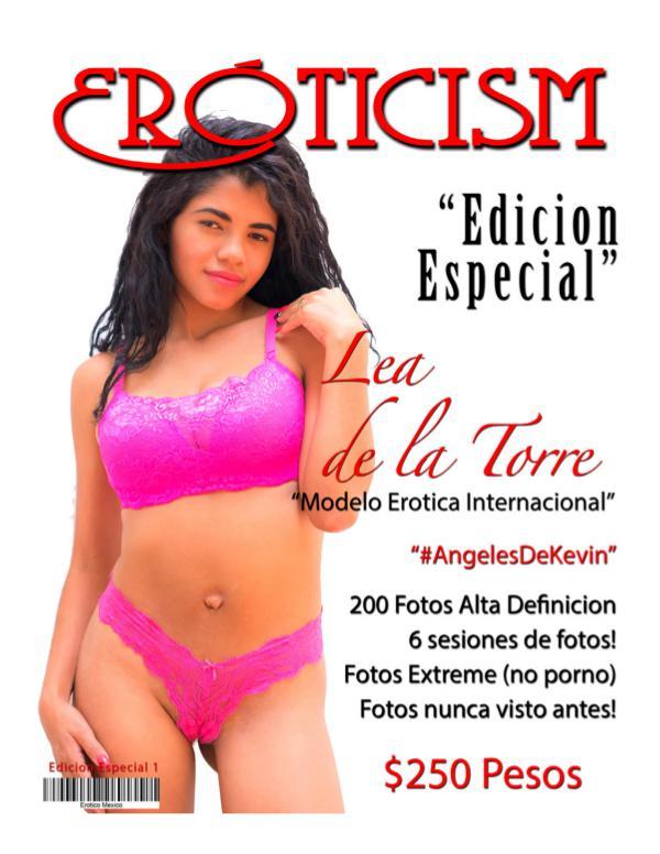 Erotico Mexico - Revista Adulto Special Edition Lea de la Torre