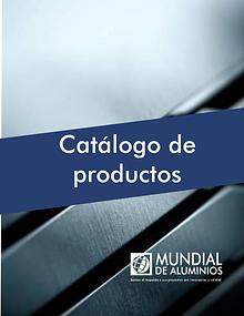 CATÁLOGO MUNDIAL DE ALUMINIOS
